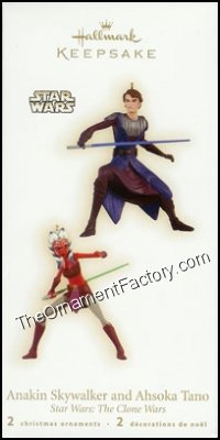 2009 Anakin Skywalker and Ahsoka Tano, Star Wars, Miniature