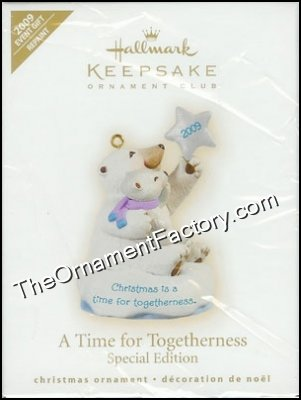 2009 A Time for Togetherness, EVENT ORNAMENT