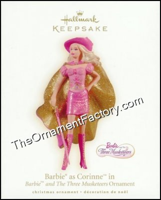 2009 Barbie as Corinne, The Three Musketeers