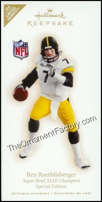 2009 Ben Roethlisberger, Football Legends, LIMITED QUANTITY