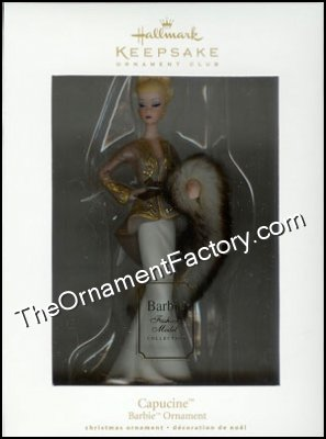 2009 Capucine, Barbie Club Ornament