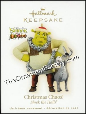 2009 Christmas Chaos, Shrek the Halls