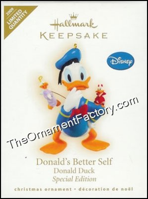 2009 Donald's Better Self, Disney, LIMITED QUANTITY