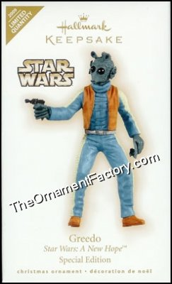 2009 Greedo, Star Wars, LIMITED QUANTITY - DB
