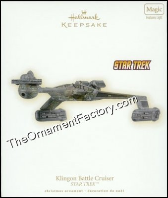 2009 Klingon Battle Cruiser, Star Trek - DB
