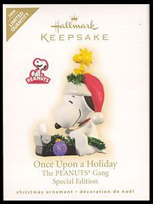 2009 Once Upon A Holiday, PEANUTS, LIMITED QUANTITY
