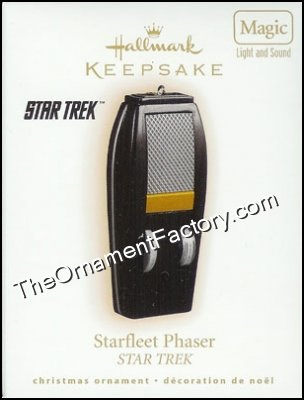 2009 Starfleet Phaser, Star Trek