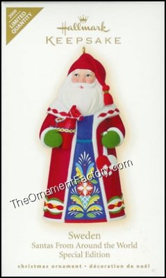 2009 Sweden, Santas Around the World, LIMITED QUANTITY
