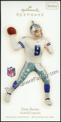 2009 Tony Romo, Football Legends #15 DB