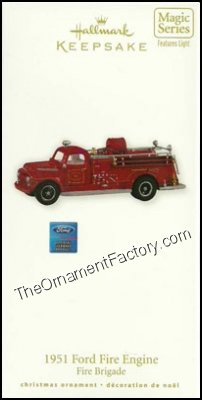 2010 1951 Ford Fire Engine, Fire Brigade #8