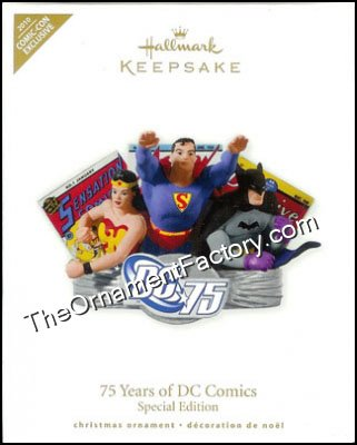 2010 75 Years of DC Comics, Special Edition, SDCC - RARE