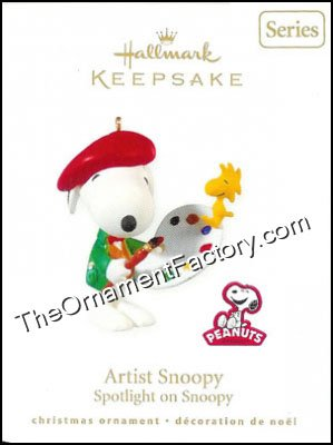2010 Artist Snoopy, Spotlight on Snoopy #13, Peanuts