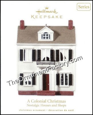 2010 A Colonial Christmas, Nostalgic Houses & Shops #27