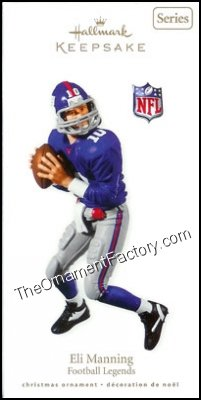 2010 Eli Manning, Football Legends #16