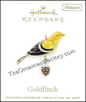 2010 Goldfinch, Miniature