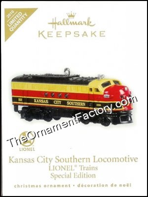 2010 Lionel Kansas City Southern Locomotive, LIMITED QUANTITY