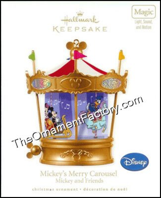 2010 Mickey's Merry Carousel, Magic DB