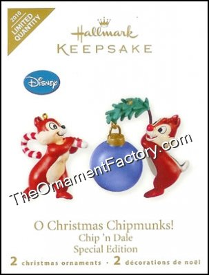 2010 O Christmas Chipmunks!, LIMITED QUANTITY, Disney