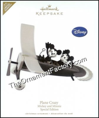 2010 Plane Crazy, Disneys Mickey and Minnie, LIMITED QUANTITY DB