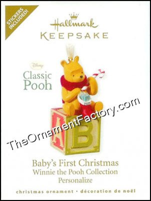 2010 Baby's First Christmas, Winnie the Pooh
