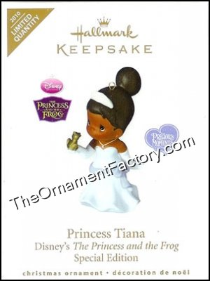2010 Princess Tiana, Disney, Precious Moments, LIMITED QUANTITY
