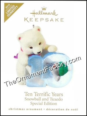 2010 Ten Terrific Years, Snowball and Tuxedo, LIMITED QUANTITY