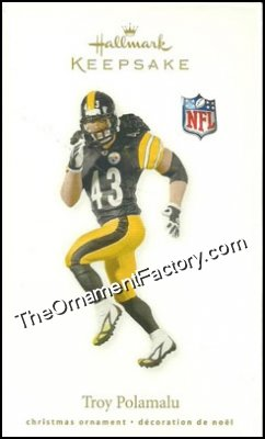 2010 Troy Polamalu, Pittsburgh Steelers, Football Legends