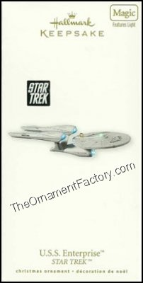 2010 USS Enterprise, Star Trek - DB