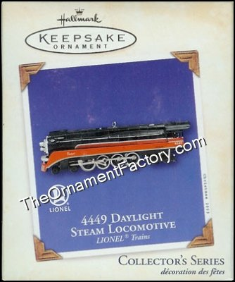 2003 Lionel #8 - 4449 Daylight Steam Locomotive
