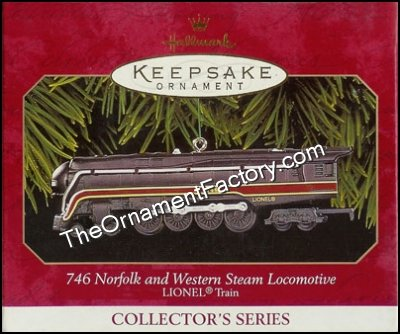 1999 Lionel #4 - 746 Norfolk and Western Steam Locomotive