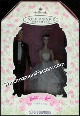 1997 Barbie and Ken, Wedding Day DB