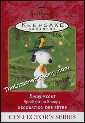 2001 Beaglescout, Spotlight on Snoopy #4, PEANUTS