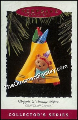1995 Bright and Sunny Tepee, Crayola #7