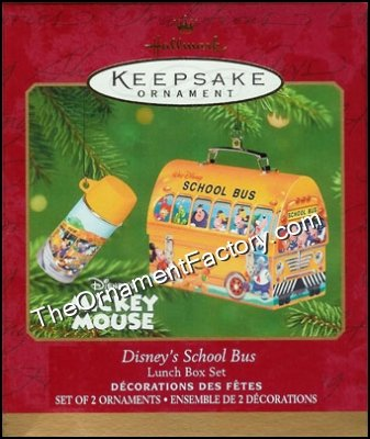 2001 Disney School Bus Lunchbox