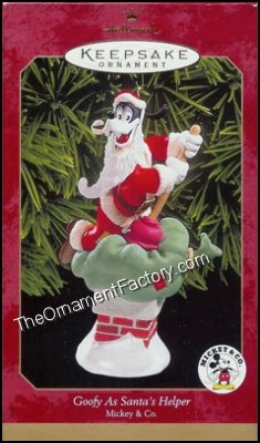 1999 Goofy as Santas Helper, Disney