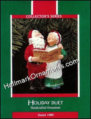 1989 Holiday Duet, Mr and Mrs Claus #4