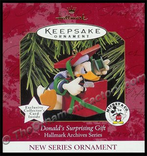 1997 Donald's Surprising Gift, Disney