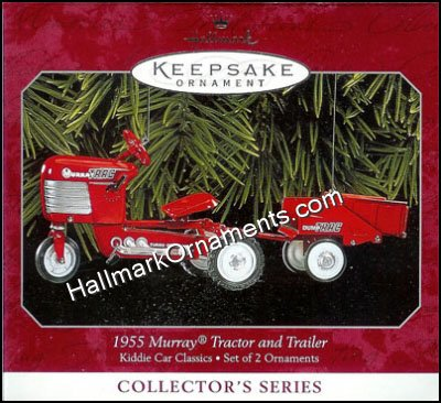 1998 1955 Murray Tractor and Trailor, Kiddie Car Classics #5