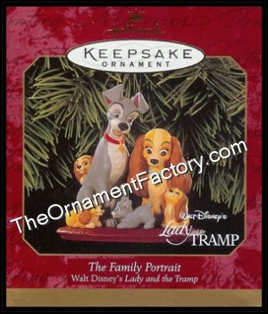 1999 Family Portrait, Lady and the Tramp