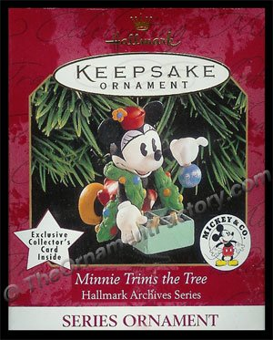 1999 Minnie Trims the Tree, Disney