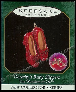 1999 Dorothy's Ruby Slippers, The Wizard of Oz