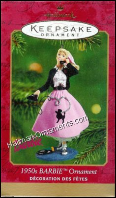 2001 1950s Barbie Ornament
