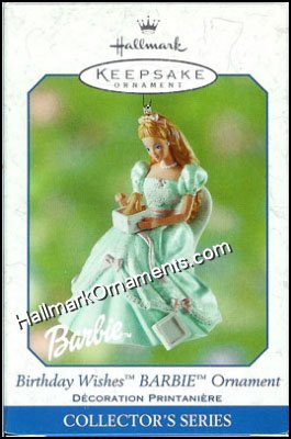 2002 Birthday Wishes Barbie #2