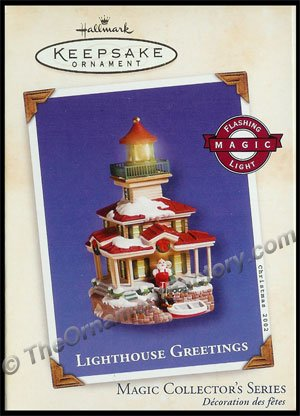 2002 Lighthouse Greetings #6 DB
