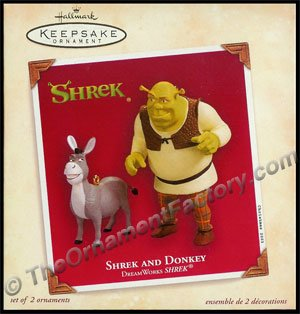 2003 Shrek and Donkey