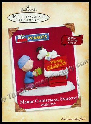 2004 Merry Christmas, Snoopy!, Peanuts