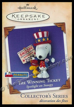 2004 Spotlight on Snoopy #7 - The Winning Ticket, PEANUTS NT