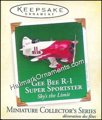 2005 Gee Bee R-1 Sky's the Limit Mini #5, Miniature