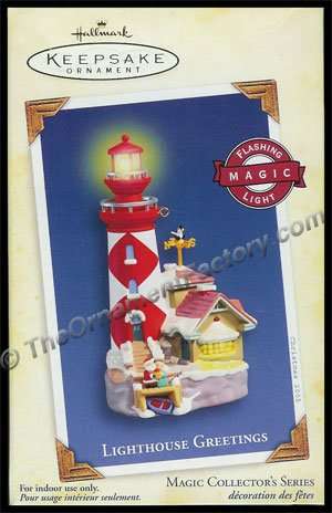 2005 Lighthouse Greetings #9 DB
