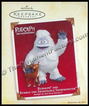 2005 Rudolph and Bumble the Abominable Snowmonster, from Rudolph